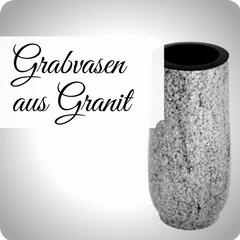 Moderne und hochwertige Grabvasen aus Granit, für Ihre persönliche Grabgestaltung. Stilvolle Friedhofsvasen jetzt günstig online kaufen.