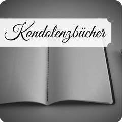 Hochwertige Kondolenzbücher
