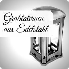 Moderne und hochwertige Grablaternen aus Edelstahl, für Ihre persönliche Grabgestaltung. Stilvolle Grablampen jetzt günstig online kaufen.