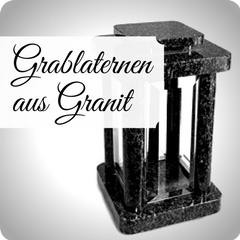 Moderne und hochwertige Grablaternen aus Granit, für Ihre persönliche Grabgestaltung. Schöne Grablampen jetzt günstig online kaufen.