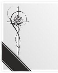 Beerdigung Karte.Trauerkarten Kaufen Trauerkarte Pietätvoll Schreiben
