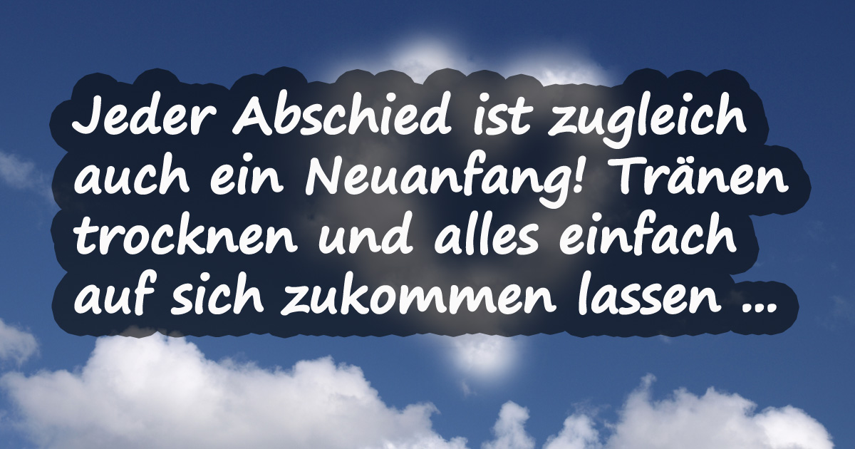 abschied traurig