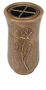 Grabschmuck Schachten aus Bronze (Vase) -