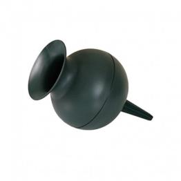 Grabvase Kugelform grün 22cm -