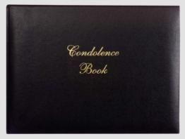 Kondolenzbuch -