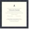 Trauer Dankeskarten / Danksagungskarten Trauer   Gratis Musterkarten und Versand