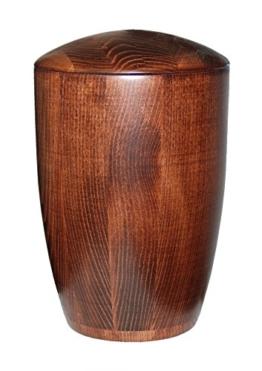 Urns UK Pitsea 244CI Erwachsene Urne für Asche, Holz, Mahagoni -