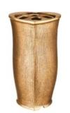 Bronzevase /Grabvase/Grabschmuck/Allerheiligen/Totensonntag/Bronze