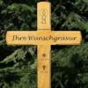 Edles Grabkreuz, Holzkreuz, Wegekreuz, Unfallkreuz , inklusive Gravur !!!
