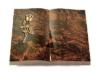 Grabbuch, Grabstein Buch, Grabplatte, Grabstein, Aruba, 40x30x6 cm