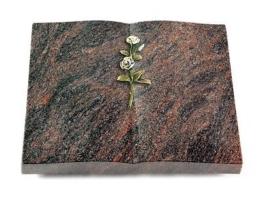 Grabbuch, Grabstein Buch, Grabplatte, Grabstein, Himalaya, 40x30x6 cm