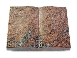 Grabbuch, Grabstein Buch, Grabplatte, Grabstein, Paradiso, 40x30x6 cm