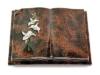 Grabbuch, Grabstein, Buch, Grabplatte, Steinbuch, Aruba, 40x30x7 cm