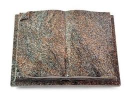 Grabbuch, Grabstein, Buch, Grabplatte, Steinbuch,  Paradiso, 40x30x7 cm