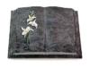Grabbuch, Grabstein, Grabmal, Grabplatte, Steinbuch, Orion, 40x30x7 cm