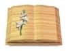 Grabbuch, Grabstein, Grabmal, Grabplatte, Steinbuch, Woodland, 40x30x7 cm