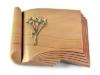 Grabbuch, Grabstein, Grabplatte, Grabmal, Buchform, Woodland , 40x30x6 cm