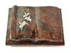 Grabbuch, Grabstein Grabplatte in Buchform, Aruba, 40x30x8-9 cm