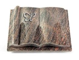 Grabbuch, Grabstein Grabplatte in Buchform, Himalaya, 40x30x8-9 cm