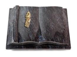 Grabbuch, Grabstein, Grabplatte in Buchform, Orion, 40x30x8-9 cm