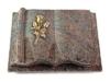 Grabbuch, Grabstein, Grabplatte in Buchform, Paradiso, 40x30x8-9 cm