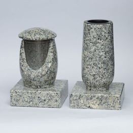 Grablampe Granit Grablaterne Grabvase Grabsockel Grabschmuck Granit schlesisch