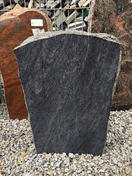 Grabmal Felsen Grabstein Grabanlage Granit Naturstein Orion blau Friedhof Stein