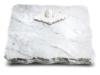 Grabplatte, Gedenkplatte, Urnenstein, Grabtafel, Gedenktafel, ca. 40x30x5 cm