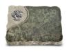 Grabplatte, Gedenkplatte, Urnenstein, Grabtafel, Gedenktafel,ca. 40x30x5 cm