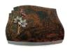 Grabplatte, Grabstein, Grabmal, Grabkissen, Aruba, 40x30x6 cm