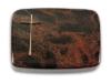Grabplatte, Grabstein, Grabmal, Grabkissen, Aruba , 40x30x6 cm