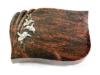 Grabplatte, Grabstein, Grabmal, Kissenstein, Aruba , 40x30x6 cm