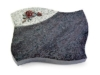 Grabplatte, Grabstein, Grabmal, Kissenstein, Orion Viskont White, 40x30x7 cm
