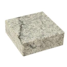 Grabsockel Granit Granitsockel Grabsockel    15cm x 15cm x 5 cm  Viscont white