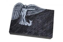 Grabstein, Grabmal, 45*35*10 cm,mit Inschrift,Grabplatte,  Neu