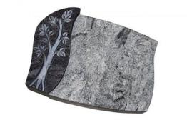 Grabstein, Grabmal, 60*45*10 cm,mit Inschrift,Grabplatte,  Neu