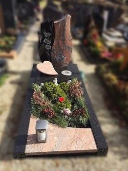 Grabstein, Grabmale, Einzelgrabstein, Stein, Grabanlage