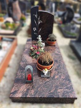 Grabstein,Grabmale, Einzelgrabstein, Stein