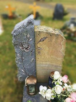 Grabstein,Grabmale, Granit, Einzelgrab