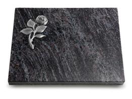 Grabtafel, Grabplatte, Grabstein, Grabmal, Urnenstein, Gedenkstein 40x30x5cm,