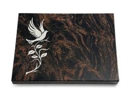 Grabtafel, Grabplatte, Grabstein, Natursteinart: Aruba, ca. 40x30x3-4cm