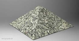 Liegestein Pyramide mit Inschrift Grabplatte Grabstein Gedenkstein Urnen Granit