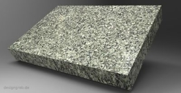 Liegestein Schriftplatte Grabstein Gedenkstein Urnenstein Granit inkl. Inschrift