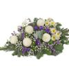 Liegestrauß mit Chrysanthemen