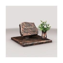 Urnengrab, Urnengrabanlage, Granit, inkl. Inschrift, Urnengrabstein