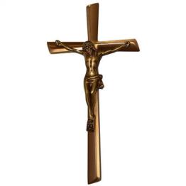 Grabkreuz Jesus Kreuz Ornament Grabschmuck  Kreuz   Messingkreuz gross x600gr