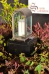 Grableuchte | Grablampe | Grablaterne | Grablicht aus Edelstahl ->NEU