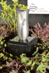 Grabvase aus Aluminium | Grabschmuck | Grablape | Grablicht | Grab | Vase >NEU