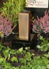 Grabvase aus Bronze | Grabschmuck | Grablape | Grablicht | Grab | Vase ->NEU