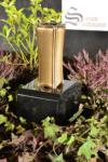 Grabvase aus Messing | Grabschmuck | Grablape | Grablicht | Vase -->NEU